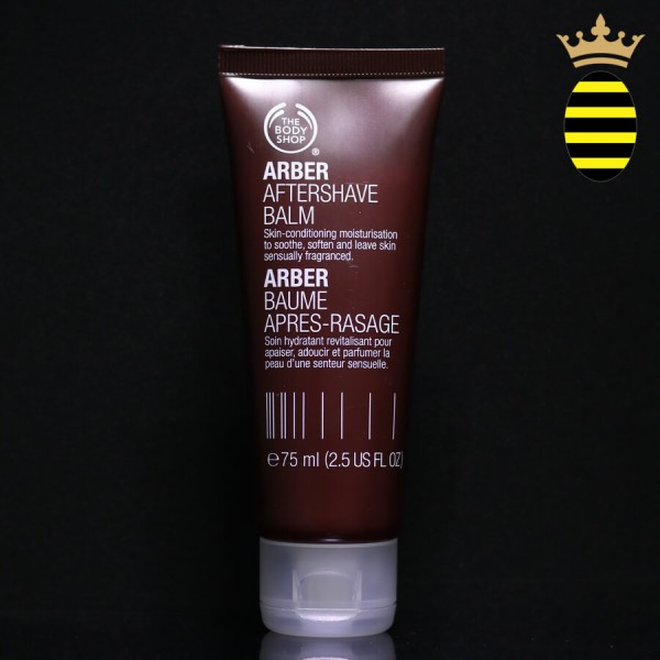 THE BODY SHOP ARBER AFTERSHAVE BALM 75ML