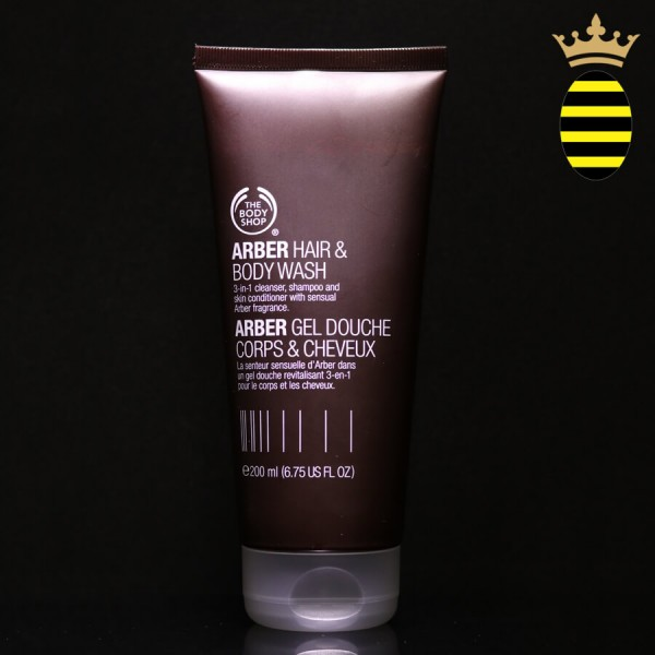 THE BODY SHOP ARBER HAIR & BODY WASH 200ML