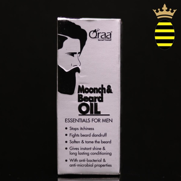 QRAA MOONCH & BEARD OIL 30ML