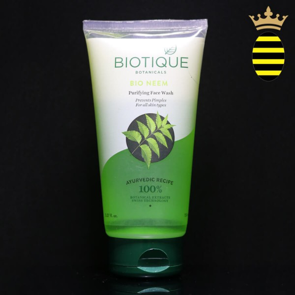 BIOTIQUE BIO NEEM PURIFYING FACE WASH 150ML