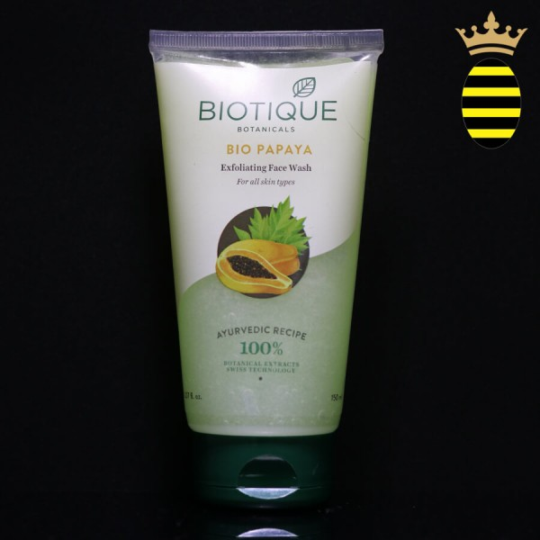 BIOTIQUE BIO PAPAYA EXFOLIATING FACE WASH 150ML