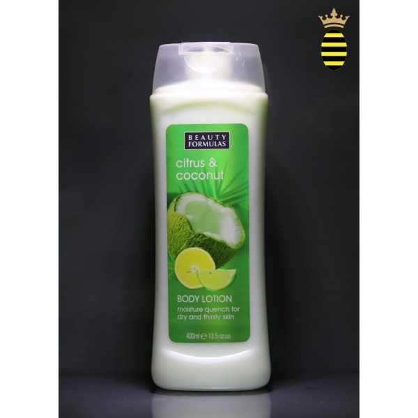 Beauty Formulas Citrus & Coconut Body Lotion 400ml