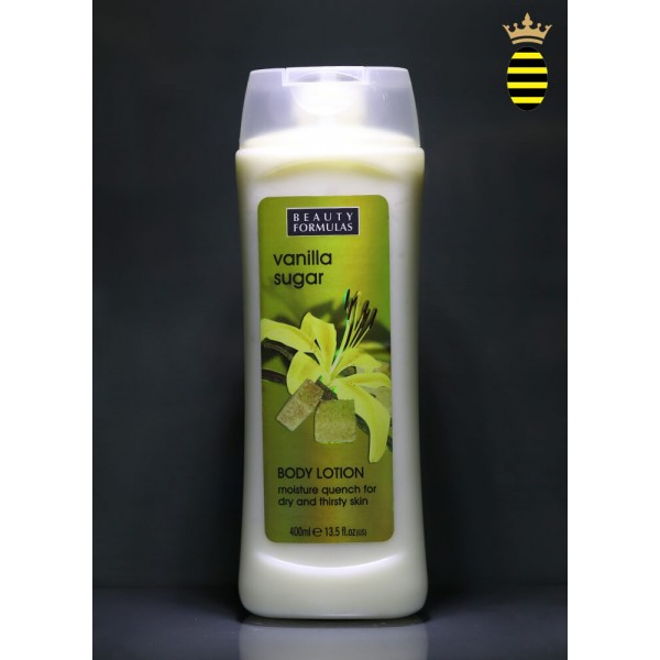 Beauty Formulas Vanilla Sugar Body Lotion 400ml