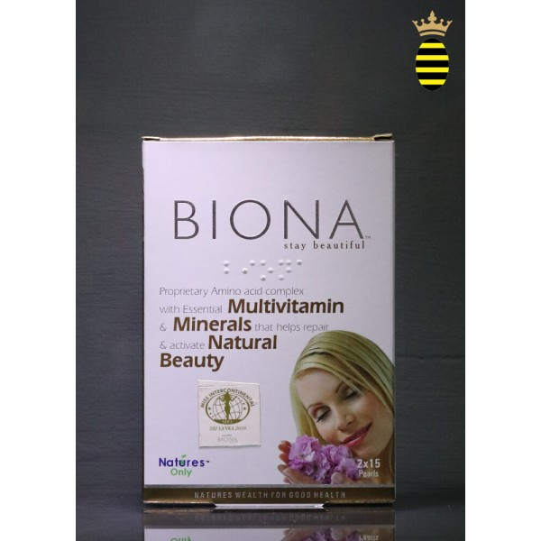 Biona Stay Beautiful Pearls - 30 Tablets