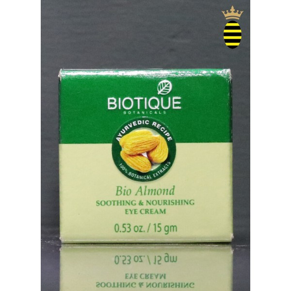 Biotique Bio Almond Soothing & Nourishing Eye Cream 15g