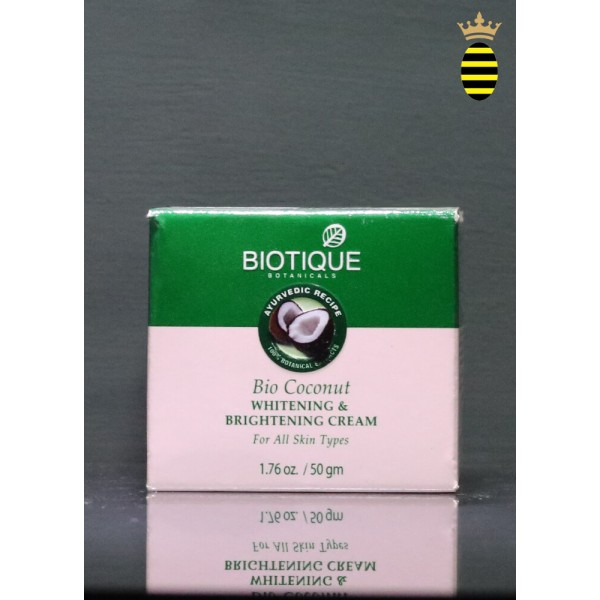 Biotique Bio Coconut Whitening & Brightening Cream 50g