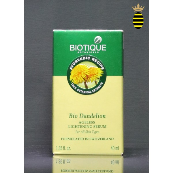 Biotique Bio Dandelion Ageless Lightning Serum 40ml