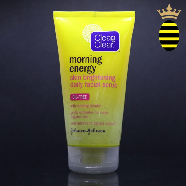 CLEAN & CLEAR MORNING ENERGY SKIN BRIGHTNING DAILY FACIAL SCRUB 150ML