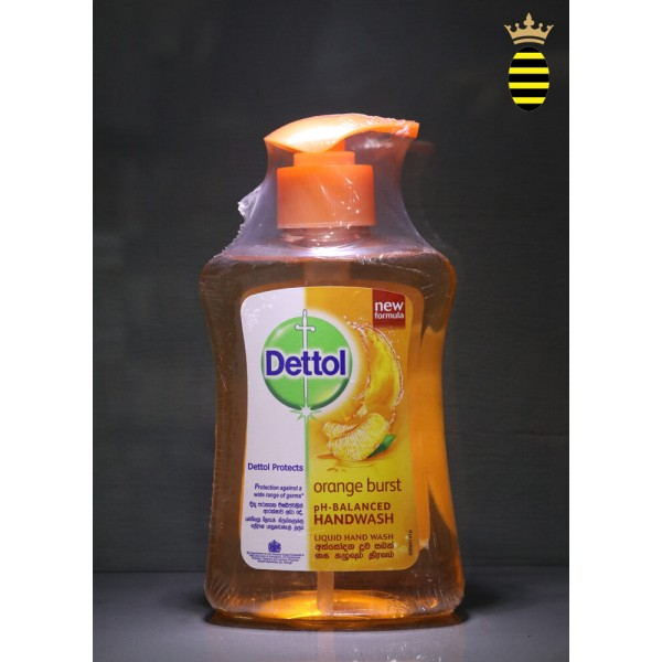 Dettol Re-energise pH-balanced Orange Burst Hand Wash 250ml