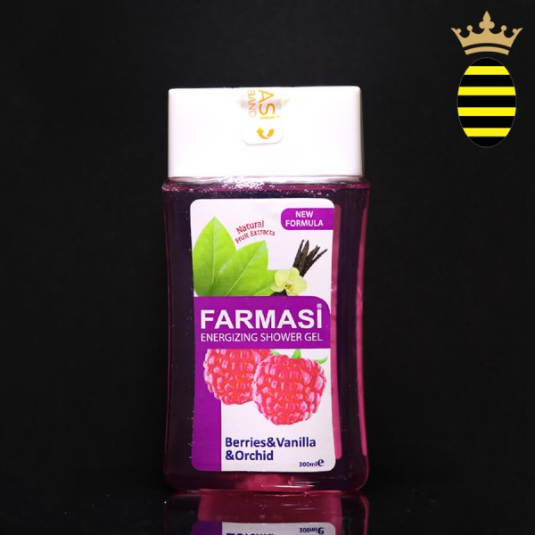 FARMASI BERRIES VANILLA & ORCHID ENERGIZING SHOWER GEL 300ML