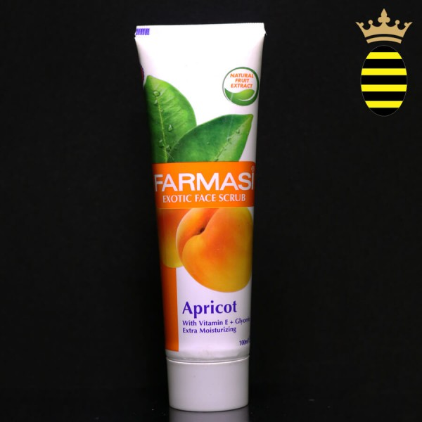 FARMASI EXOTIC FACE SCRUB APRICOT 100ML