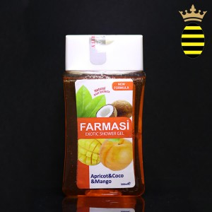FARMASI APRICOT COCO AND MANGO EXOTIC SHOWER GEL 300ML