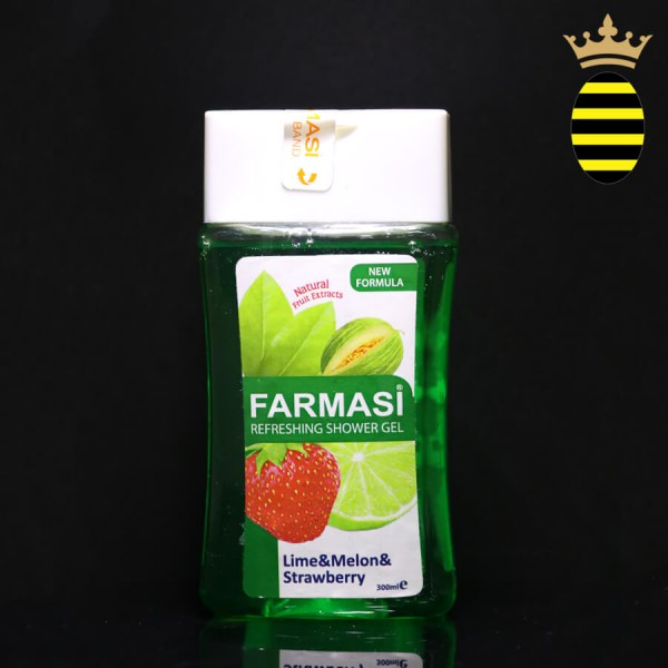 FARMASI LIME MELON STRAWBERRY REFRESHING SHOWER GEL 300ML
