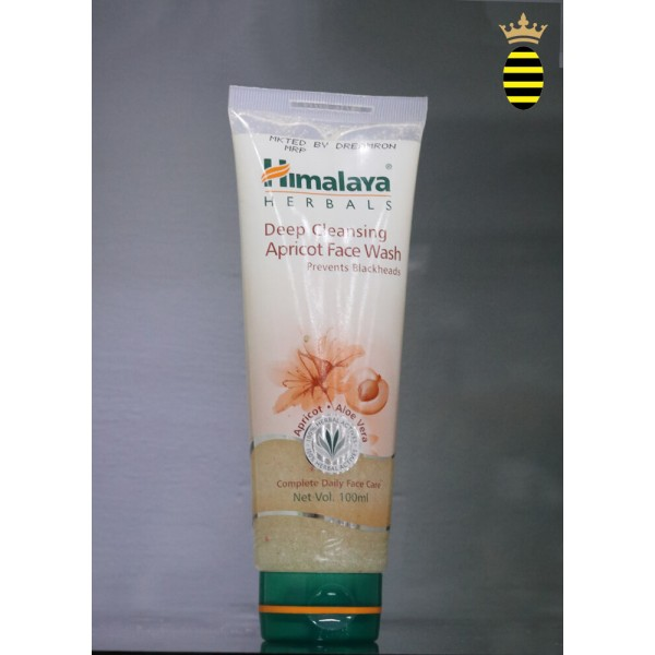 Himalaya Herbals Deep Cleansing Apricot Face Wash 100ml
