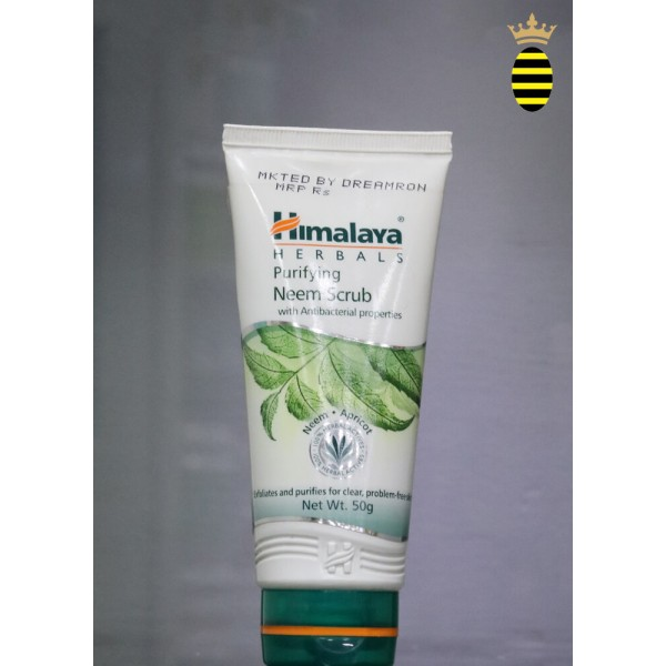 Himalaya Purifying Neem Scrub with Anti Bacterial Properties 50g