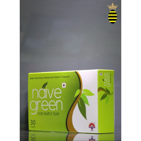 Indchemie Naive Green for Simply Slim 30 Capsules