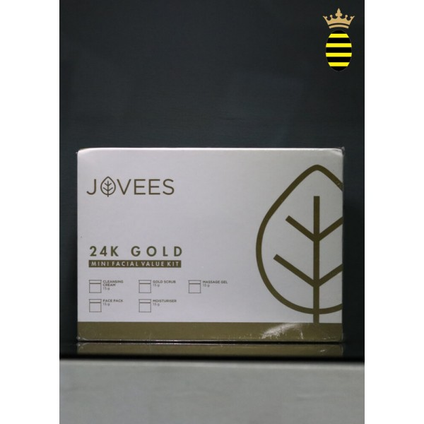 Jovees 24 Carat Gold Facial Value Mini Kit - 65g