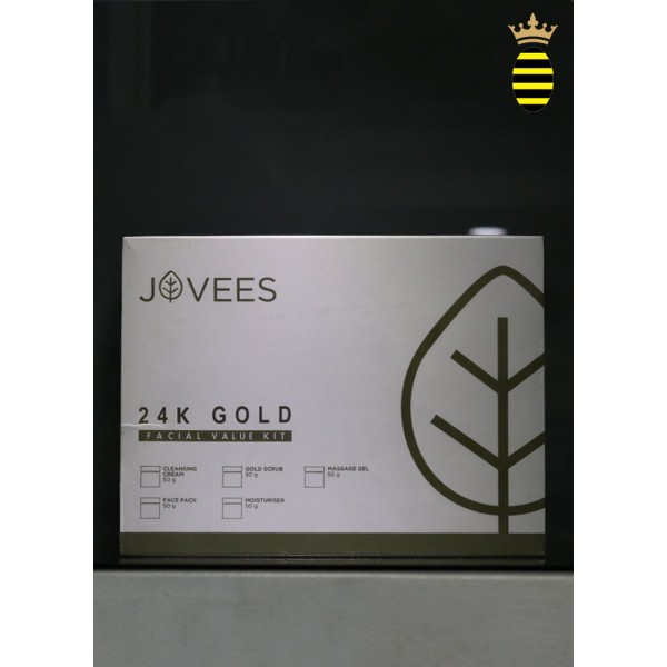 Jovees 24K Gold Facial Value Kit - 250 g