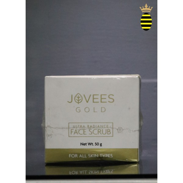 Jovees 24k Gold Ultra Radiance Face Scrub 50g
