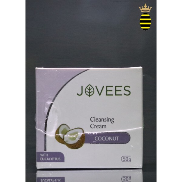 Jovees Cleansing Cream Coconut With Eucalyptus 50g