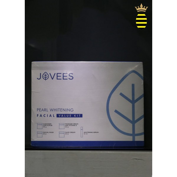 Jovees Pearl Whitening Facial Kit - 225g