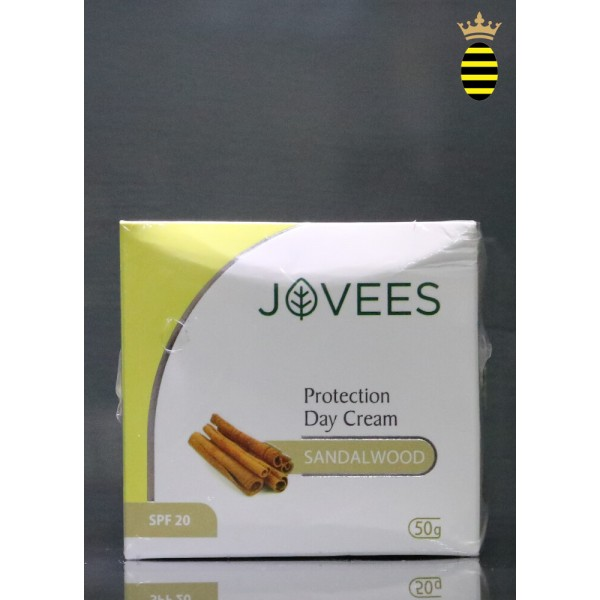 Jovees Protection Day Cream Sandalwood with SPF 20 - 50g