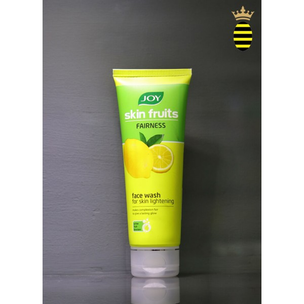 Joy Skin Fruits Fairness Face Wash (Lemon) 100ml