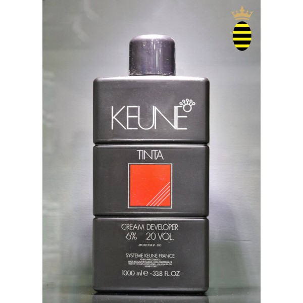 Keune Tinta Developer Cream 6% - 1 Litre