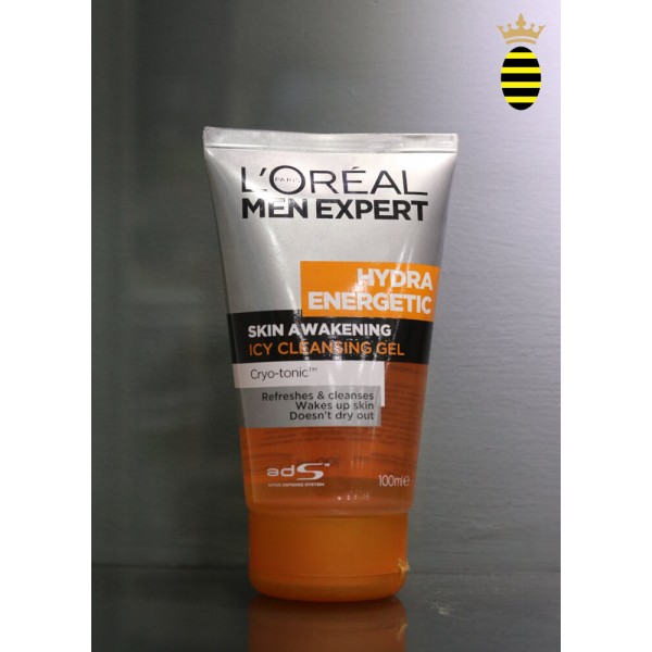L'Oreal Paris Men Expert Hydra Energetic Skin Awakening Icy Cleansing Gel