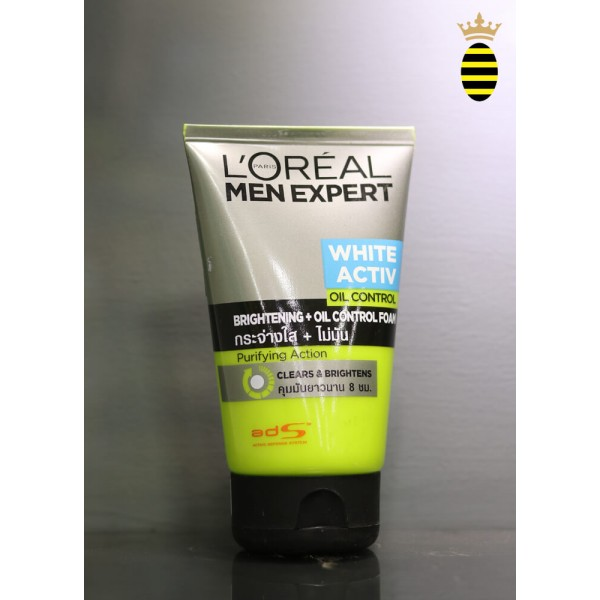 L'oreal Man Expert White Active Oil Control Face Wash