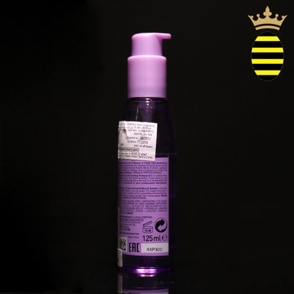 L'OREAL SERIE-EXPERT LISS UNLIMITED PRIMROSE BLOW DRY OIL 125ML