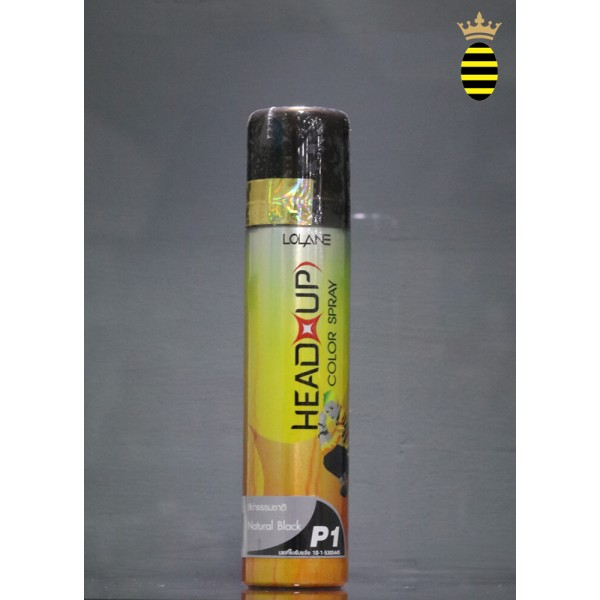 Lolane Head up Color Spray P1 Natural Black 75 ml