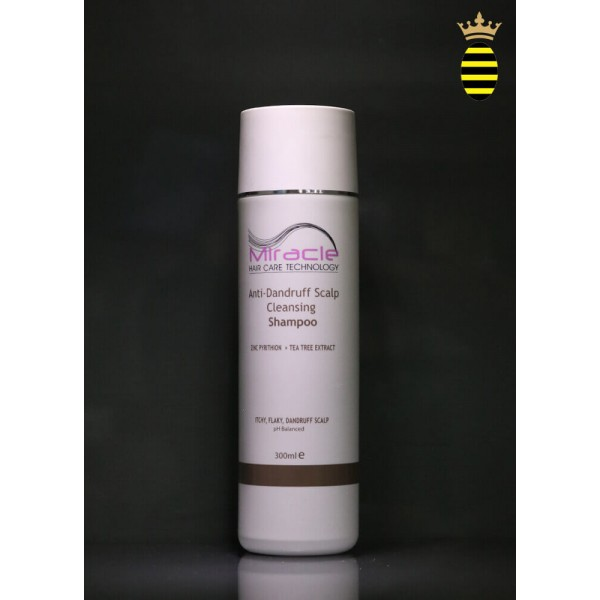 Miracle Anti-Dundruff Scalp Cleansing Shampoo 300ml