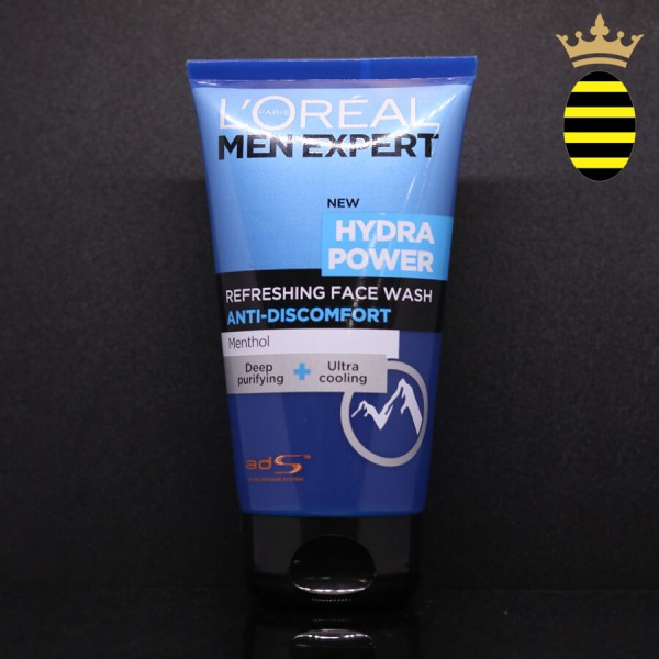 L'OREAL MEN EXPERT HYDRA POWER REFRESHING FACE WASH 150ML