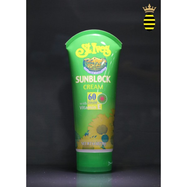 St Ives Sunblock Cream Spf 60 with vitamin E 170g