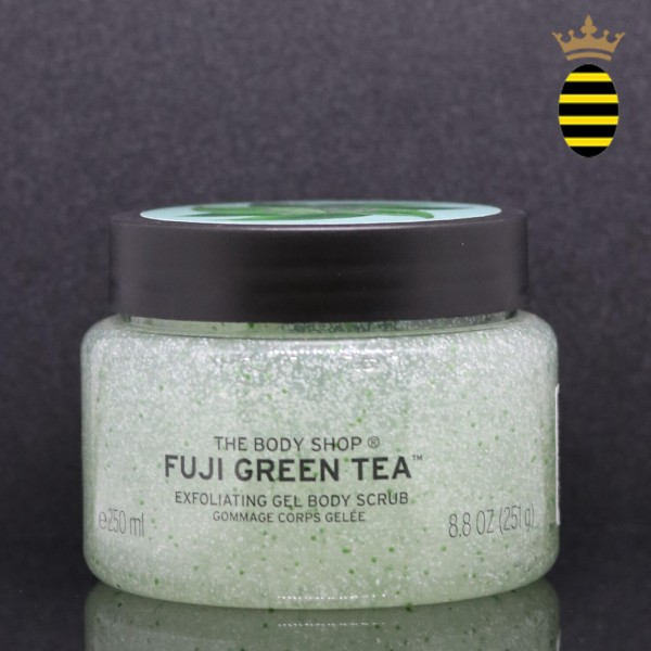 THE BODY SHOP FUJI GREEN TEA BODY SCRUB 250ML