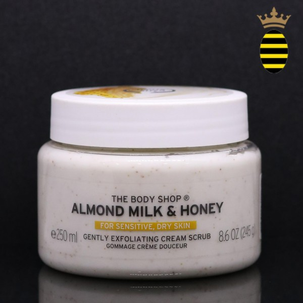 THE BODY SHOP ALMOND MILK & HONEY BODY SCRUB 250ML