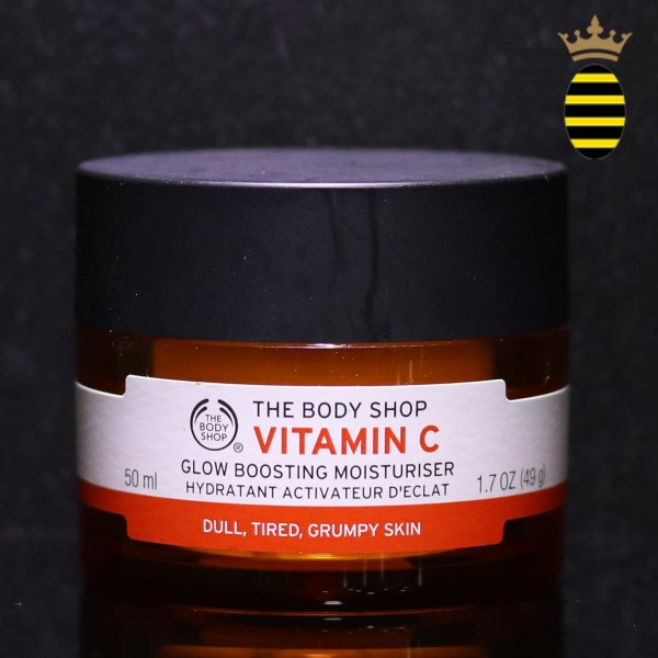 THE BODY SHOP VITAMIN C GLOW BOOSTING MOISTURISER 50ML