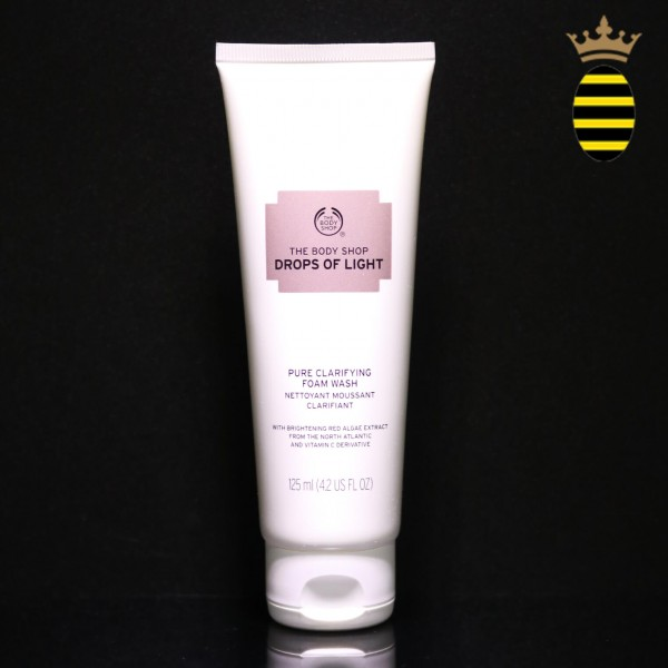 THE BODY SHOP BRIGHTENING CLEANSING FOAM 125ML
