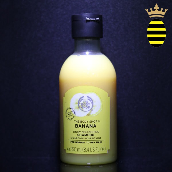 THE BODY SHOP BANANA TRUELY NOURISHING  SHAMPOO 250ML