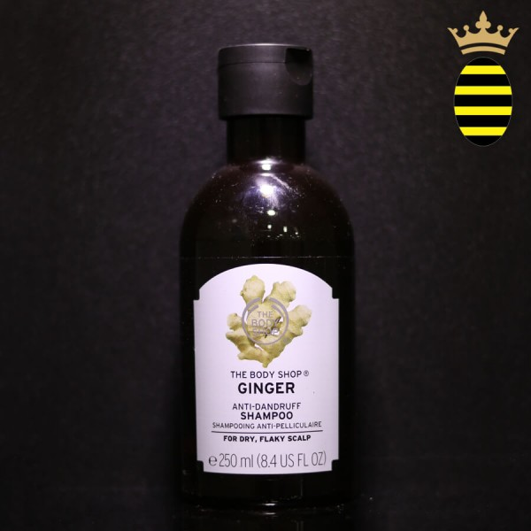 THE BODY SHOP GINGER ANTI_DUNDRUFF SHAMPOO 250ML