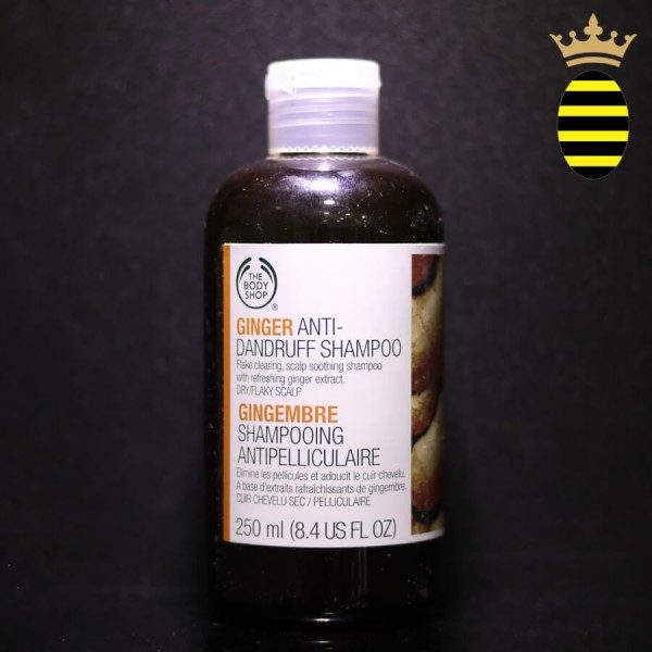 THE BODY SHOP GINGER ANTI DANDRUFF SHAMPOO 250ML