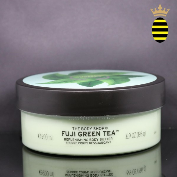 THE BODY SHOP FUJI GREEN TEA REPLENISHING BODY BUTTER 200ML