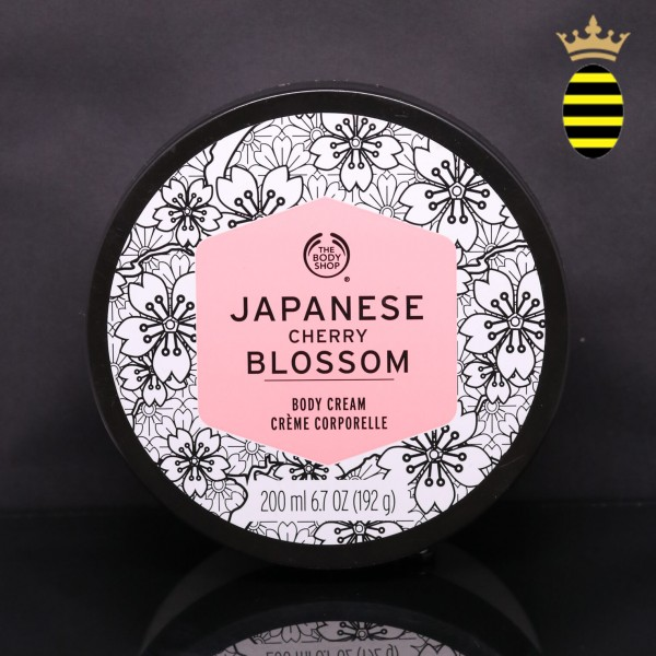 THE BODY SHOP JAPANESE CHERRY BLOSSOM BODY CREAM 200ML