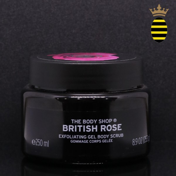 THE BODY SHOP BRITISH ROSE BODY SCRUB 250ML