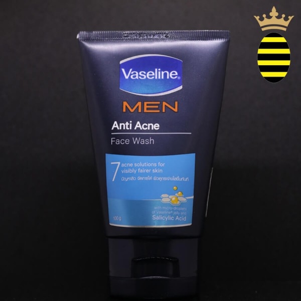 VASELINE MEN ANTI ACNE FACE WASH 100G