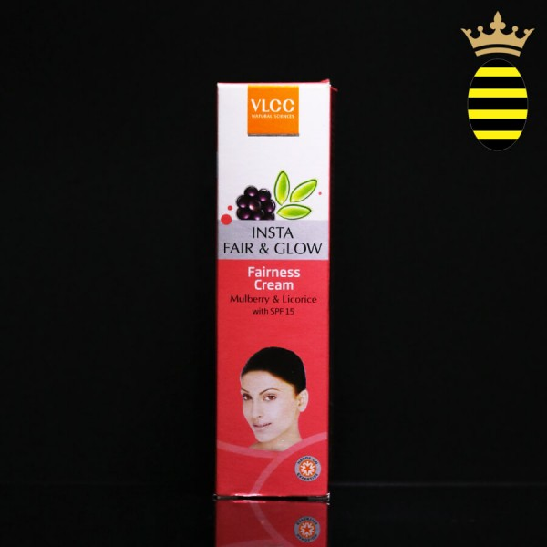 VLCC Insta Fair & Glow Fairness Cream 50G