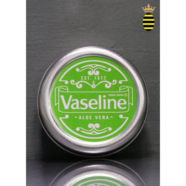 Vaseline Lip Therapy  ALOE VERA Lip Balm Tin 20g