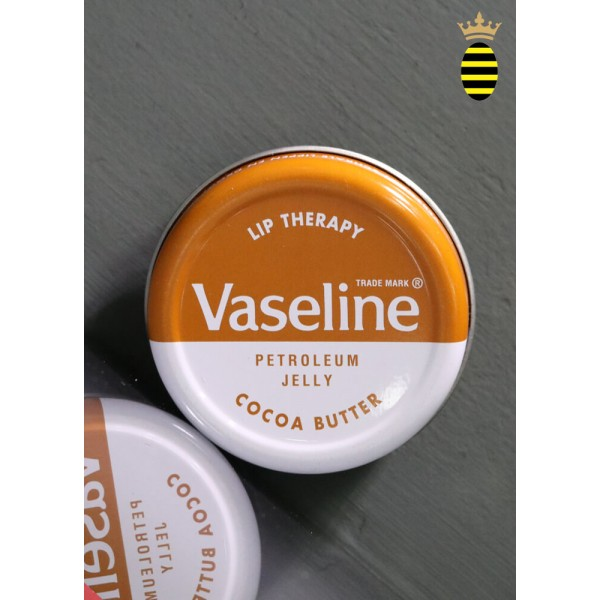 Vaseline Lip Therapy Petroleum Jelly Lip Balm Tin Cocoa Butter 20g