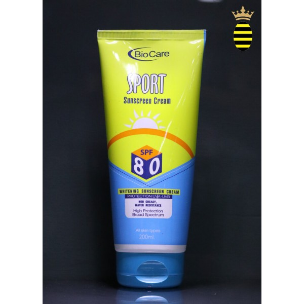 Biocare Whitening Sunscreen Cream spf-80 200g